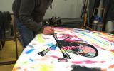 Peinture capot