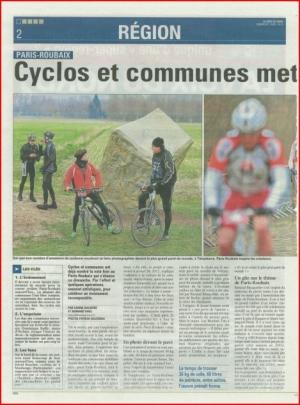 Cyclos et communes mettent le grand braquet